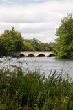 Puente de cinco arcos en el agua de Virginia foto de archivo