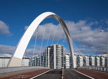 Puente de Clyde Imagen de archivo libre de regalías