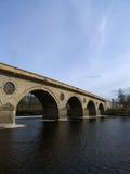Puente de Coldstream, fronteras, Escocia Imagen de archivo