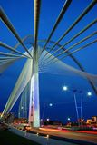 Puente de colgante Foto de archivo