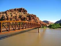 Puente de Colorado Riverway Fotografía de archivo libre de regalías