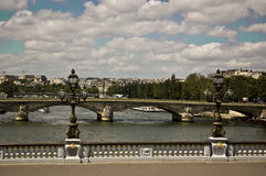 Puente de Concorde Imagenes de archivo