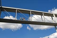 Puente de conexión fotos de archivo