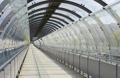 Puente de cristal en Munich Imagen de archivo