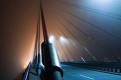 Puente de cuerda Foto de archivo