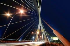 Puente de cuerda Bangkok Tailandia foto de archivo libre de regalías