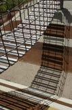 Puente de cuerda del patio Imagenes de archivo