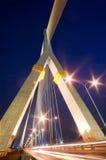 Puente de cuerda en Bangkok fotografía de archivo libre de regalías