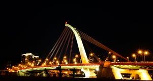 Puente de Dazhi, Taipei, Taiwán Fotos de archivo libres de regalías