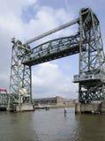 Puente de De Hef, Rotterdam Fotos de archivo libres de regalías