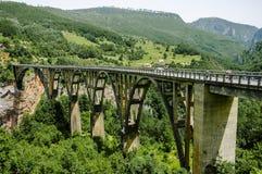 Puente de Djurdjevic fotografía de archivo