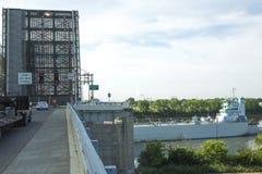 Puente de drenaje Foto de archivo libre de regalías