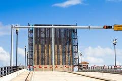 Puente de drenaje del metal Imagenes de archivo