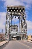 Puente de drenaje en Cleveland fotografía de archivo libre de regalías