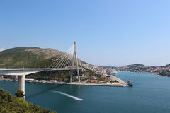 Puente de Dubrovnik Fotografía de archivo