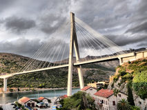 Puente de Dubrovnik fotos de archivo libres de regalías
