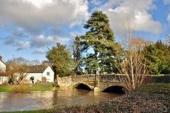 Puente de Eardisland, Herefordshire, Inglaterra Foto de archivo libre de regalías
