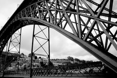 Puente de Eiffels Fotos de archivo