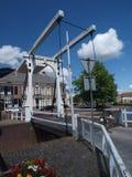 Puente de elevación holandés Fotos de archivo libres de regalías