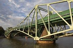Puente de elevación, Liepaja, Latvia. Fotos de archivo libres de regalías