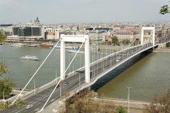 Puente de Elizabeth Imagenes de archivo