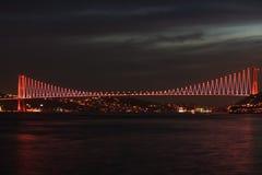 Puente de Estambul Bosphorus Fotos de archivo