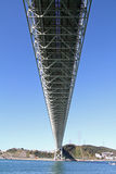 Puente de estrecho de Kammon imagenes de archivo