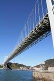 Puente de estrecho de Kammon imagen de archivo