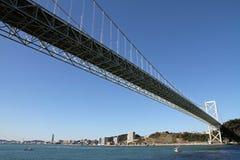 Puente de estrecho de Kammon foto de archivo