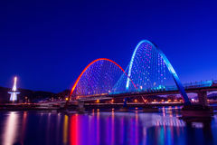 Puente de Expro en Daejeon, fotos de archivo libres de regalías