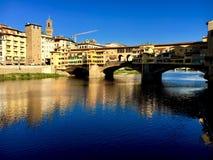 Puente de Florencia Imágenes de archivo libres de regalías