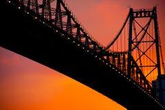 Puente de Floripa Fotos de archivo libres de regalías