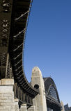 Puente de formación de arcos Imagen de archivo libre de regalías