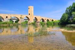 Puente de Frias fotos de archivo