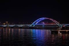 Puente de Fuxing foto de archivo libre de regalías