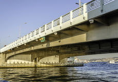 Puente de Galata Imagen de archivo