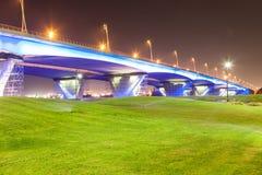 Puente de Garhoud del Al en Dubai Fotografía de archivo
