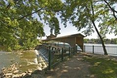 Puente de George del lago Imagen de archivo