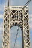 Puente de George Washington imagenes de archivo