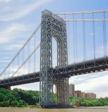 Puente de George Washington Fotos de archivo libres de regalías