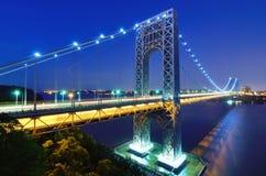 Puente de George Washington en Nueva York Fotografía de archivo