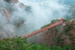 Puente de Gereum de la aventura Fotografía de archivo libre de regalías