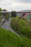 Puente de grande duquesa Charlotte Foto de archivo libre de regalías