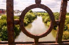 Puente de Green River Fotografía de archivo libre de regalías
