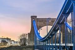 Puente de Grunwaldzki en Wroclaw Imagen de archivo libre de regalías