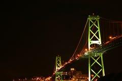 Puente de Halifax Imagenes de archivo