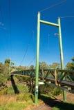 Puente de Harding en el verano Coburgo, Victoria, Australia Imagenes de archivo