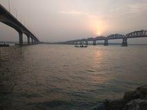 Puente de Hardinge foto de archivo