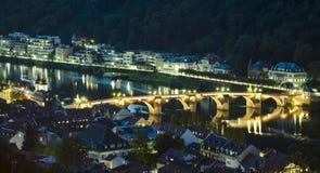 Puente de Heidelberg Imagenes de archivo