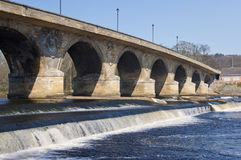 Puente de Hexham Imagen de archivo libre de regalías
